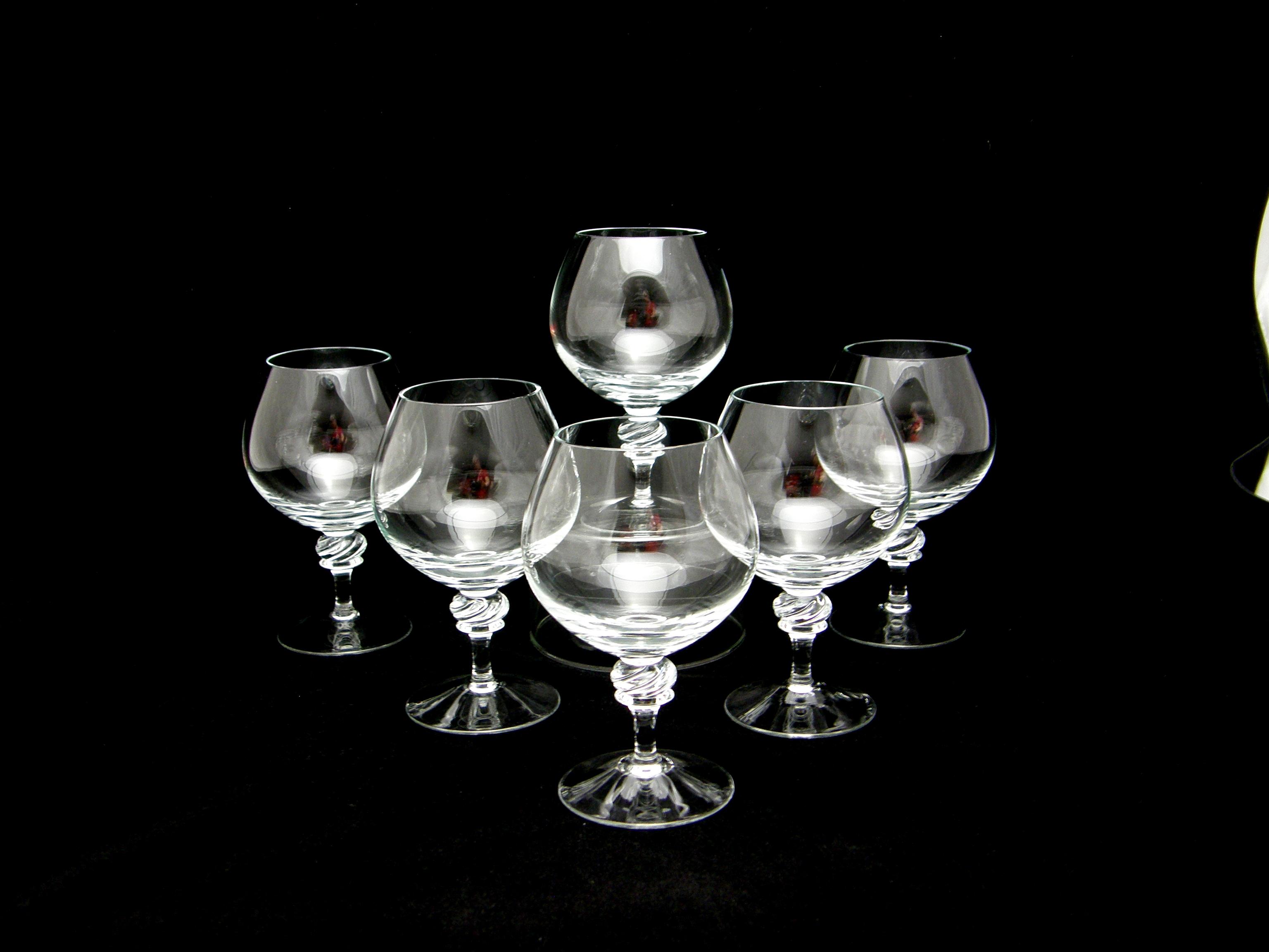 cognacglas 6 st nicole wmf jolisas finska glas och. Black Bedroom Furniture Sets. Home Design Ideas