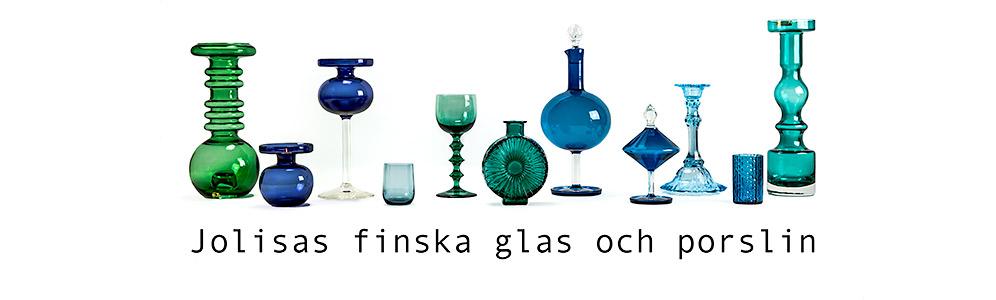 JOLISAS finska glas och porslin