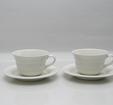 Teekuppi ja alusvati, 2 kpl, Tuuli, HLS