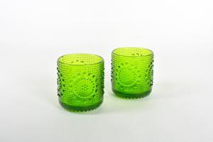 Drikcksglas, 2 st, Grapponia, grön, NS