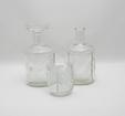 Karaffer 2 st + glas, Flindari, Klar, NS