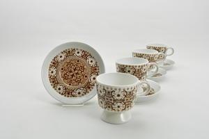 Kaffekoppar 4 st, Ali, brun, RU
