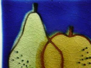Väggplatta, Frukt (SÅLD)