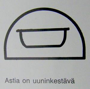 Ungsfast form med lock, Kilta,  grön, KF