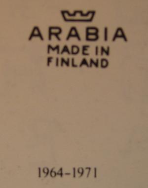 Teekuppi ja aluslautanen, Maisema (MYYTY)