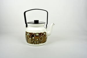 Kaffepanna, Trubadur, emalj, RU