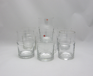 Grogglas, 6 st,  Droppring, TS