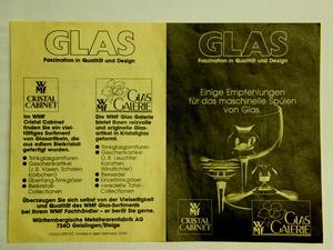 Cognacglas, 6 st, Nicole, WMF